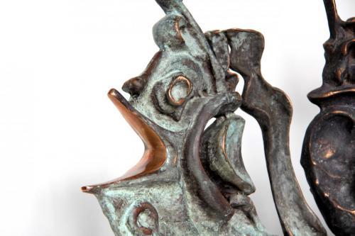 ЕПОХА РИБ, бронза, камінь, 41Х97