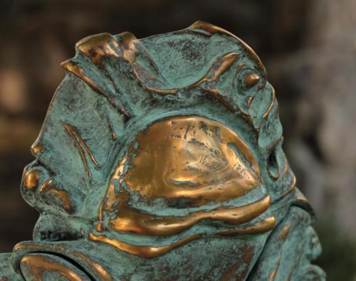 EVOLUTION, бронза, камінь, 38х30